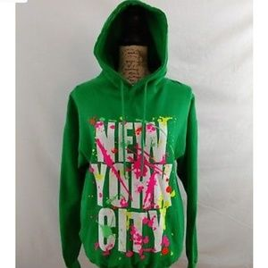 Womens New York NY City Hoodie Pullover Sweater